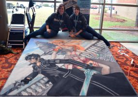 Sword Art Online IchibanCon with Artists by ChalkTwins