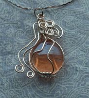 Wire pendant 199 by Kimantha333