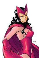 Scarlet Witch by BezerroBizarro