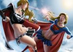 Commission: Supergirls by iurypadilha