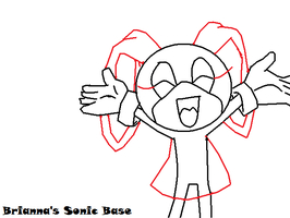 Sonic Happy Girl Base by briannasonicbases