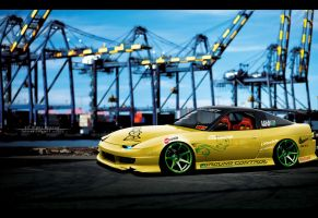 Nissan 180sx by InL0veWithMyself