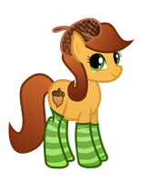 Gift: Autumn Breeze in Socks by Derpers-Gonna-Derp