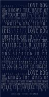 typography : love dog by lexarch