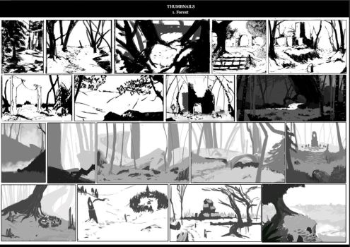 Forest Thumbnails by ranits123