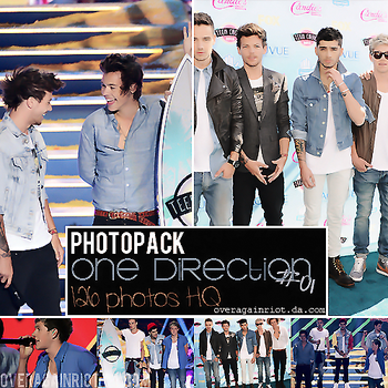 Photopack One Direction #01 by overagainriot