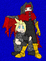Cloud! Are you hiding from Sephiroth again? by MurkamiHaruka