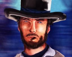 Clint Eastwood by Bloo-DKai12
