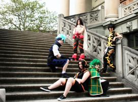 Shaman King Group by x-snow-white-x