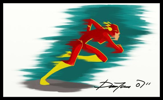 The Flash by ferwar