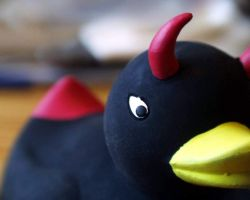Evil duck by louline