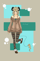 Draw to Adopt Entry: Sweater Demon by BeesHoneypot