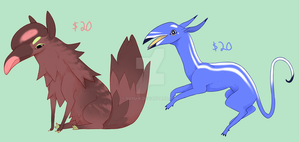 Adopts - FENS! two still available by Meredies
