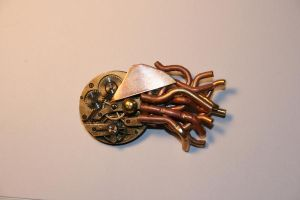 Steampunk nautilus by Paul-Nasca