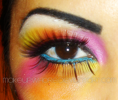 F.LASHY COLORS by MaKEuPWHoRE