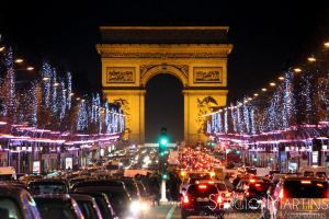 Arc de Triomphe by sergiomartins