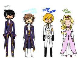 CODE GEASS TIME by Pharos-Chan