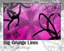 Grunge Lines. by PhysicalMagic