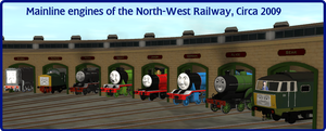 Mainline Modern Fleet of the North-West Railway by wildnorwester