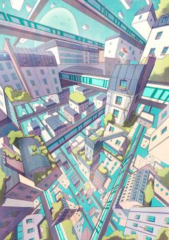 Metro City by CaringWong