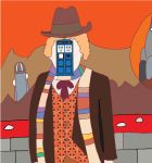 Man of Gallifrey by nerdliterature