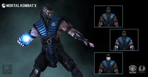 Mortal Kombat X - Subzero Costume B by Sticklove
