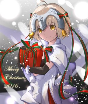 Jeanne d'Arc Alter Santa Lily - Merry Christmas by benevolencer