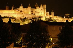The Old City Carcassonne by manicstreetpreacher