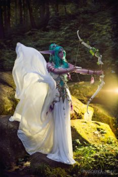 World of Warcraft - Tirande by Pugoffka-sama