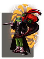 Tmnt Crossover SoulEater by Dragona15