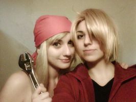 FMA - Winry and Ed by TheSaligia