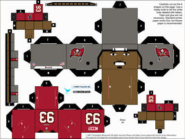 Gerald McCoy Buccaneers Cubee by etchings13