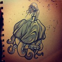 Octo-girl by lookhappy