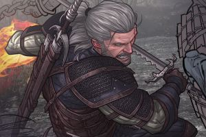 The Witcher 3 - Work in progress by PatrickBrown