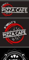 Pizza Cafe Logo designs by YeshuaNel