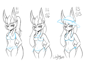 PkmnA: Help me pick a Bathing suit by LuckyRyo