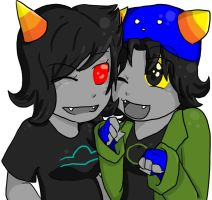 Terezi x Nepeta by tv-headache