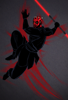 Darth Maul by greenleafcm