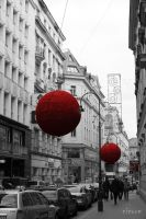 red balloons by NIC0RE