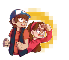 Mystery Twins by FauxBoy