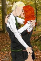Forbidden Forest Kiss by TheRaineDrop