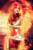Dark Phoenix - Rise Again - Marvel Comics by WhiteLemon