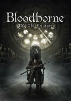 Bloodborne The Old Hunters 2015 DLC Game Cover  by MatrixUnlimited
