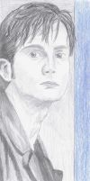 David Tennant by EvilWerewolfPirate