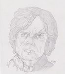Peter Dinklage as Tyrion Lannister by ArtOfTypH