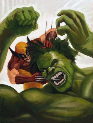 Part 14 / 4 Wolverine_vs__the_Hulk_by_bfowler