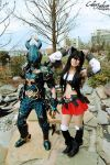 The FFXIV Cuties by AlichuuCosplay