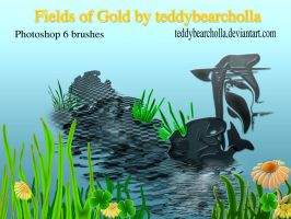 Fields of gold _the brush by teddybearcholla