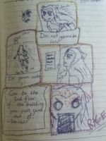 Diary Doodle 3: Teachers are Trolls by TheDragonInTheCenter