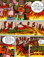 Sonic Survivor Island - Pg.18: Overkill by SDCharm